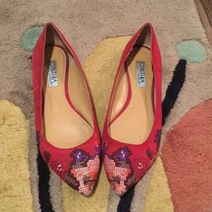 Embroidered Cynthia Rowley flats